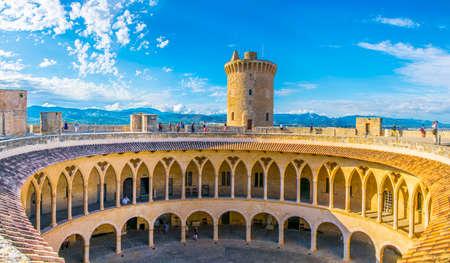 Castell de Bellver at Palma de Mallorca, Spain Editorial