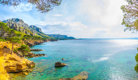 Es Calo bay at Mallorca, Spain