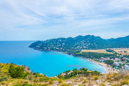 Canyamel bay at Mallorca, Spain 写真素材