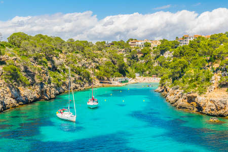 Cala Pi bay at Mallorca, Spain