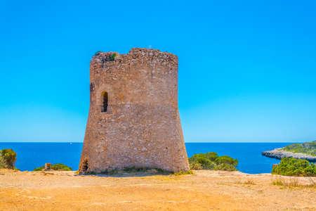 Cala Pi tower, Mallorca, Spain Editorial