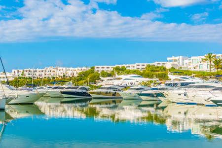 Marina at Cala DOr, Mallorca, Spain