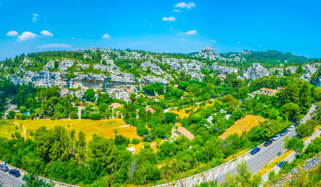 Medieval village of Les Baux des Provence in France Foto de archivo