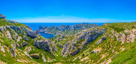 Calanque Sormiou at les Calanques national park in France