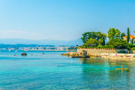 Cap d'antibes in France