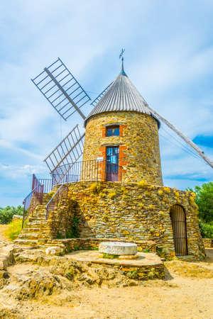 El Moli de Cotlliure - windmill in the french city Collioure