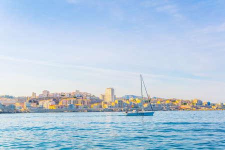 Seaside of Marseille, France