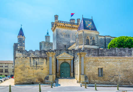 Chateau of Duke of Uzes in France