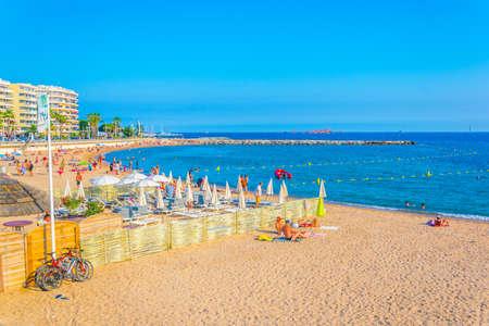 Saint Tropez Beach Stock Photos And Images 123rf