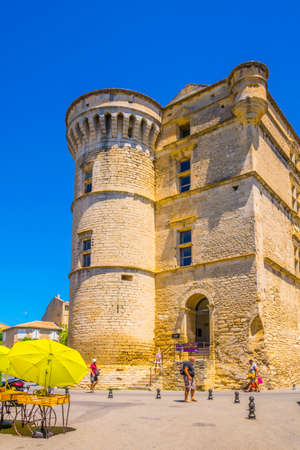 GORDES, FRANCE, JUNE 24, 2017: Gordes castle in France Editorial