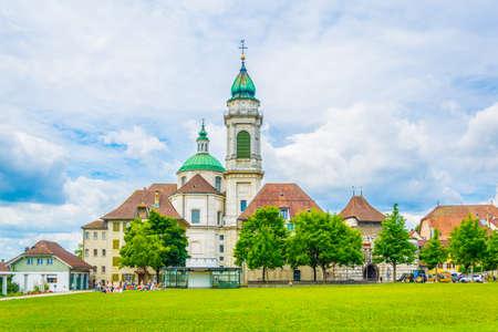 Saint Ursus cathedral in Solothurn, Switzerland