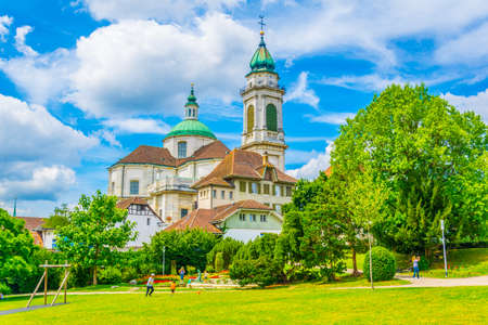 Saint Ursus cathedral in Solothurn, Switzerland