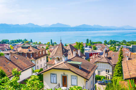 Panorama of Lausanne, Switzerland