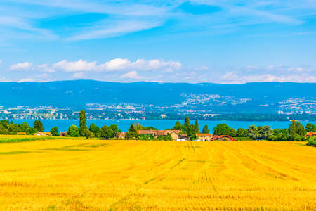 Countryside near Geneva in Switzerland