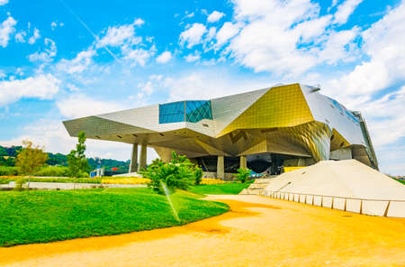 Musée des Confluences is a science and anthropology museum situated on confluence of Saone and Rhone rivers in Lyon, France