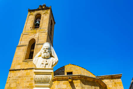Statue of archbishop Makarios - the first president of Cyprus, Nicosia