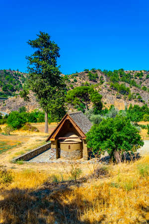 Archangelos Michael chapel at Galata, Cyprus
