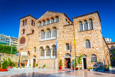 Agios Dimitrios church in Thessaloniki, Greece Stock Photo