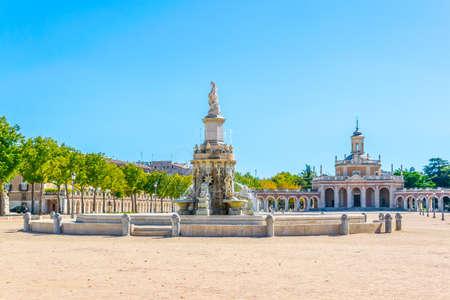 Fuente de la Mariblanca fountain at the royal palace of Aranjuez, Spain