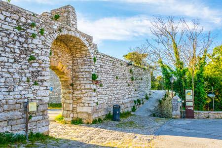 Porta Spada in Erice, Sicily, Italy