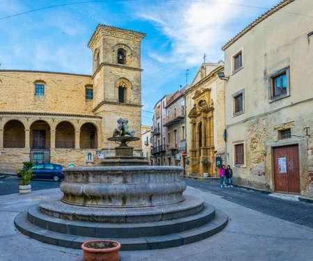 Parocchia San Tommaso Apostolo in Enna,  Sicily, Italy Reklamní fotografie