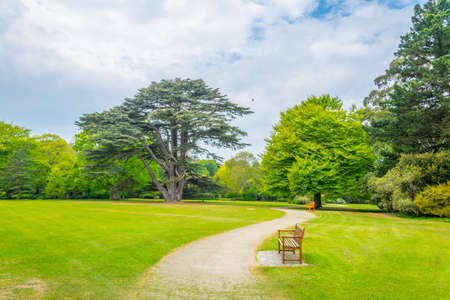 Malahide gardens in Ireland
