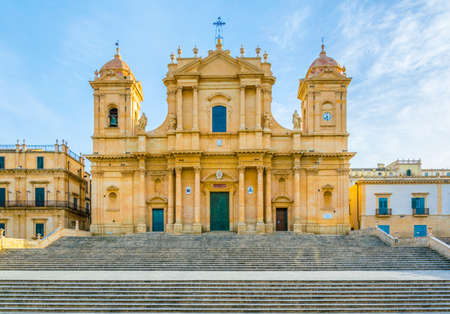 Basilica Minore di San Nicole in Noto, Sicily, Italy