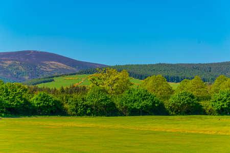 View of Irish countryside Stock Photo