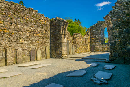 Cathedral of Sts Peter and Paul in Glendalough, Ireland