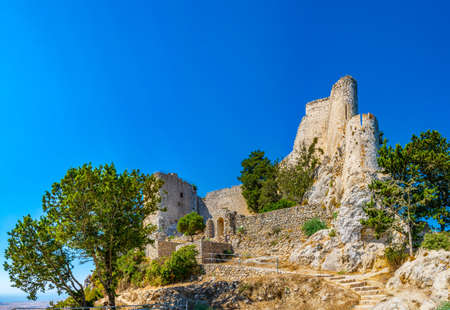Ruins of Buffavento castle in the northern Cyprus