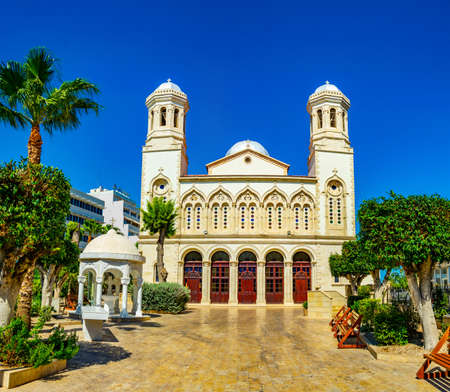 Ayia Napa Cathedral on Limassol, Cyprus