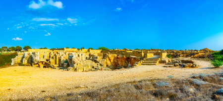 Tombs of the kings on Paphos, Cyprus