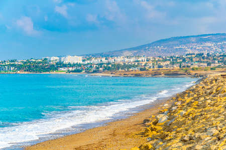 Cityscape of Coral Bay on Cyprus