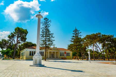 Town hall in Paphos, Cyprus Stock fotó