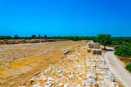 Stadium of the ancient Kourion on Cyprus