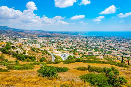 Aerial view of Paphos, Cyprus Stockfoto