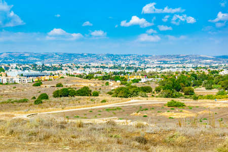 Paphos Archaeological Park on Cyprus