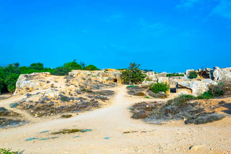 Tombs of the kings on Paphos, Cyprus Stockfoto