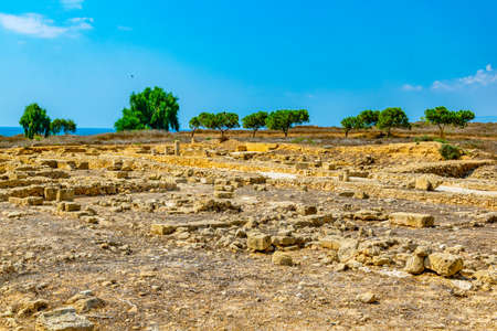 Paphos Archaeological Park on Cyprus Stockfoto