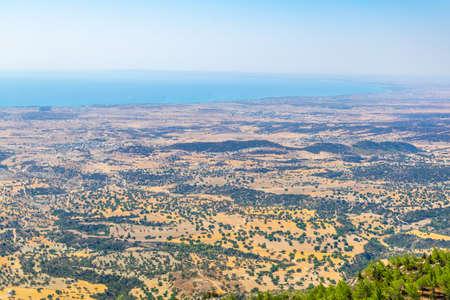 Rural countryside of Northern Cyprus Reklamní fotografie