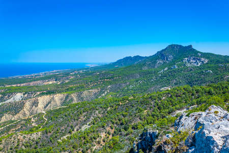 Kyrenia mountains in the northern Cyprus Archivio Fotografico