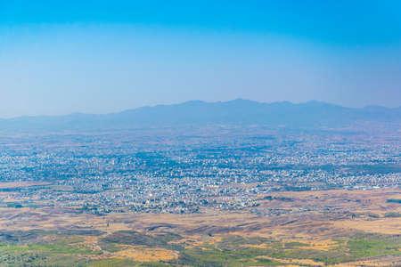 Aerial view of Nicosia/Lefkosa