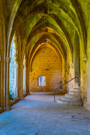 Bellapais abbey at Beylerbeyi village in Northern Cyprus Banque d'images