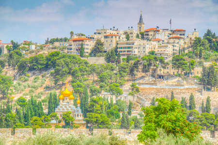 Church of Mary Magdalene in Jerusalem, Israel