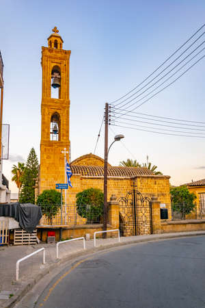 Agios Antonios church at Nicosia, Cyprus Stock Photo