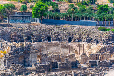 Roman theatre at Beit Shean in Israel