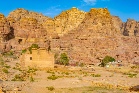 Qasr al Bint in Petra, Jordan