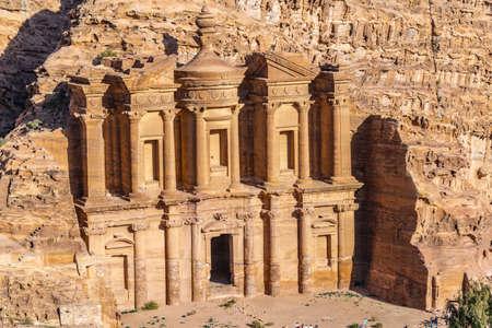 Monastery tomb in Petra, Jordan