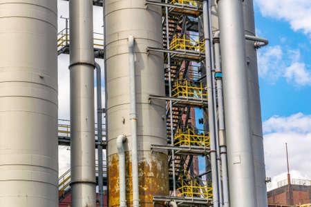 Kokerei-Gebäude im Industriekomplex Zollverein in Essen, Deutschland