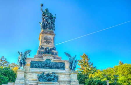 Niederwalddenkmal near Ruedesheim am Rhein in Germany